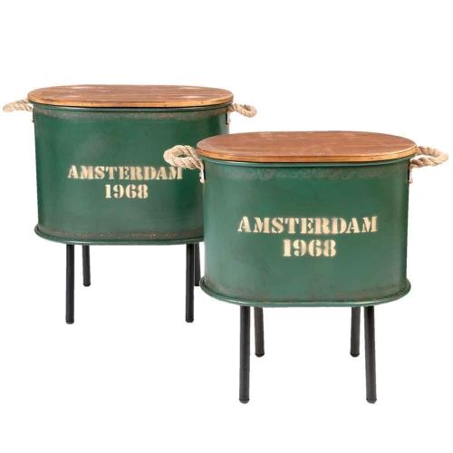 Denizli Tischset in grün