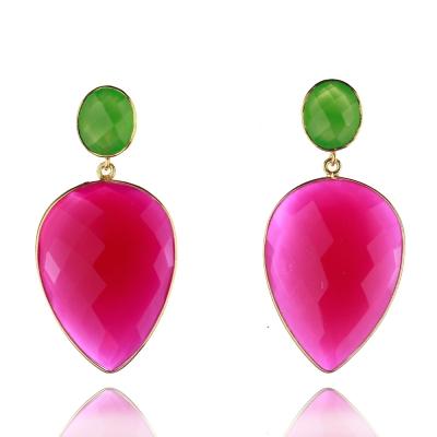 Maigrün und Feurig Pink