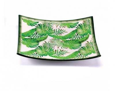 Servierplatte tropical