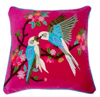 Pinker Papagei
