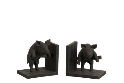 Buchstütze - Schweine