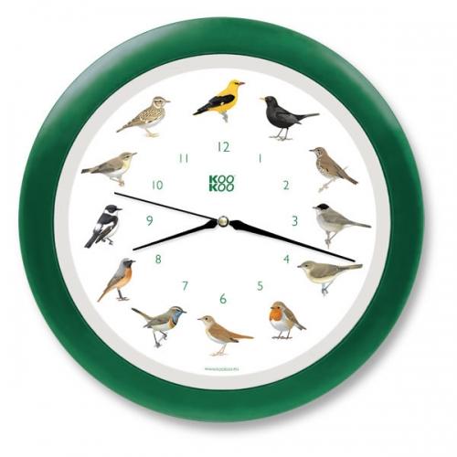 Singende Vogeluhr - verschiedenen Farben