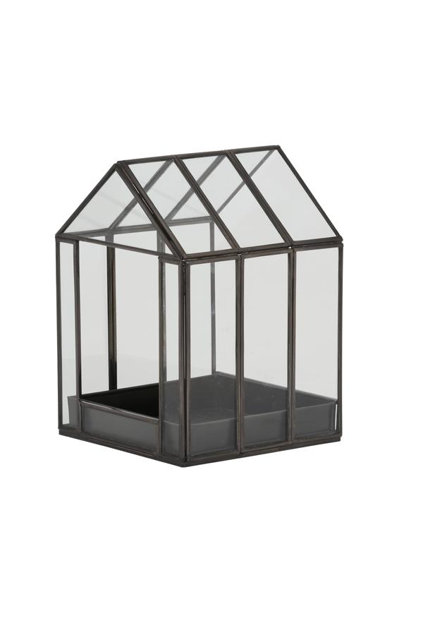 Dekoratives Haus Aus Glas