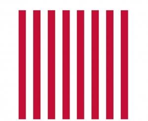 Streifen rot-weiß