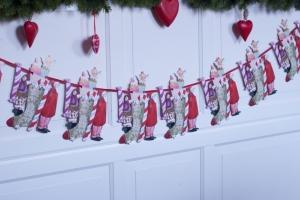 weihnachtliche Girlande