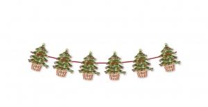 Girlande Weihnachtsbaum