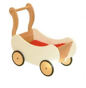 Puppenwagen weiss