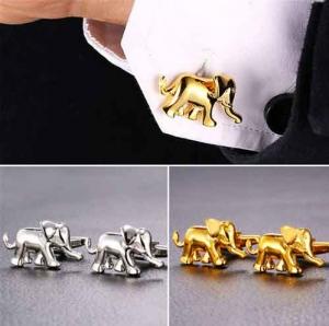 Elefant in gold oder silber