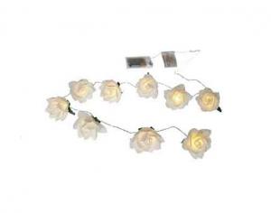 Lichterkette - Rosen
