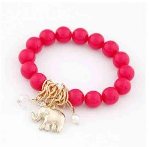 Pink mit Elefant