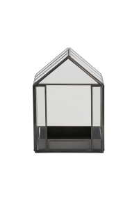 dekoratives haus aus glas. Black Bedroom Furniture Sets. Home Design Ideas
