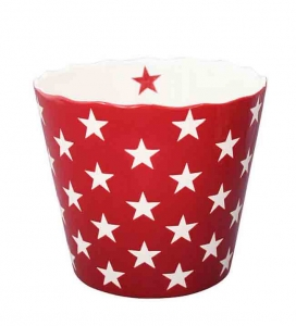Große Happy Bowl - rot