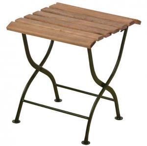 Tischchen mit grünem Bein