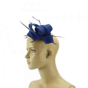 Fascinator - Knoten - dunkelblau
