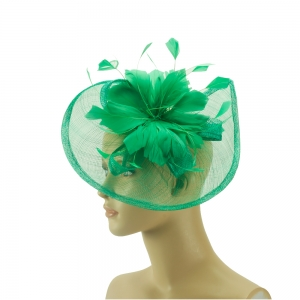 Fascinator - grüne Eleganz
