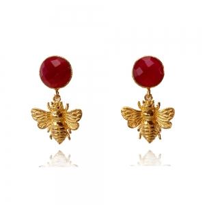 Bienchen mit Chalcedon