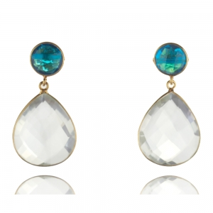 Kristall und Topas