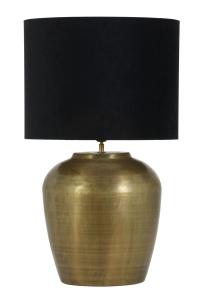 runder Lampenschirm in schwarz in verschiedenen Größen