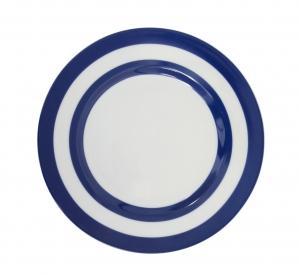 Speiseteller blauer Kreis