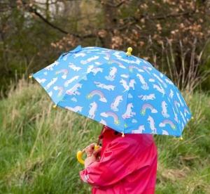 Regenschirm - Einhorn
