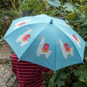 Regenschirm - Lama