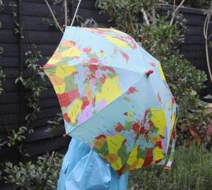 Regenschirm - Weltkarter