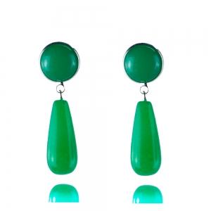 Jade mit Jade - Ohrclips