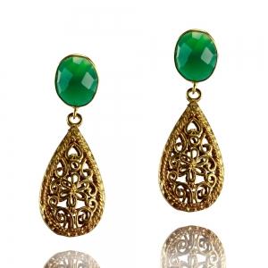 Anmutiges in grün und gold