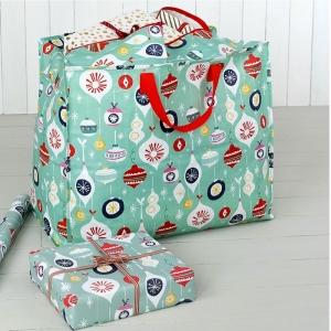 XXL - Tasche Weihnachtskugeln