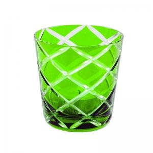 grünes Wasserglas
