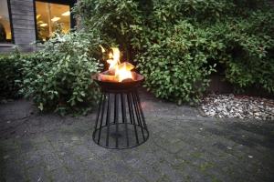 Feuerschale und Feuerkorb in Eins!