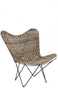 Lounge - Rattan  Stuhl
