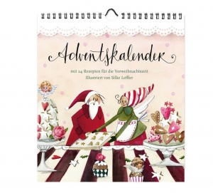 Adventskalender mit Rezepten von Silke Leffler