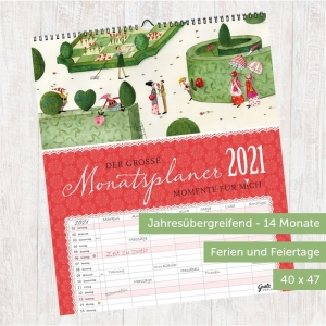 Jahreskalender für die Großfamilie