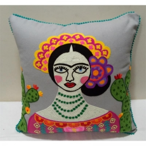 Frida Kahlo mit Kaktus