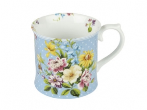 Becher - English Garden - blue