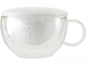 Doppelwandige Tasse inkl. Filter