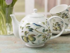Teekanne - Der Frühe Vogel