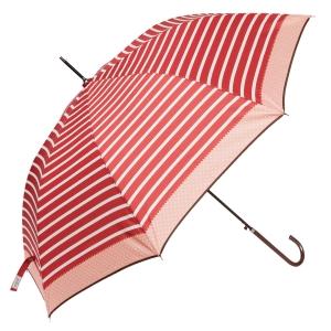 Regenschirm mit Streifen in verschiedenen Farben