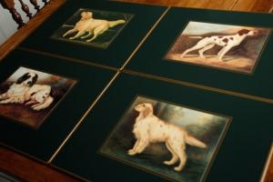 Jagdhunde - Tischsets