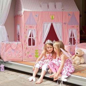 Schloss für kleine Prinzessinnen
