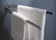 klassischer, 2-armiger Handtuchhalter
