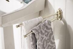 Eleganter, schwenkbarer Handtuchhalter