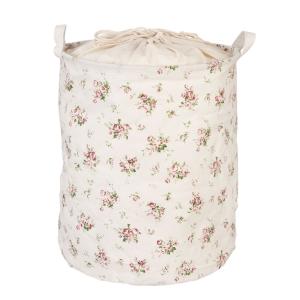 Wäschesack mit Blümchen