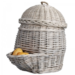 Der Kartoffel ihr Körbchen