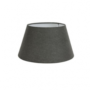 Lampenschirm in dunkelgrau in verschiedenen Größen